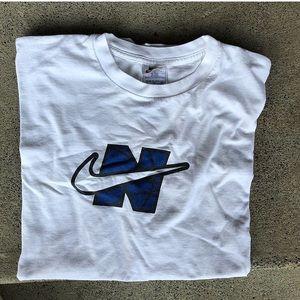 "early 2000s Nike ""N Check"" tee"